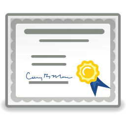 application-certificate